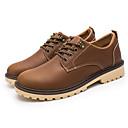 halpa Miesten Oxford-kengät-Miesten Comfort-kengät PU Kevät kesä Oxford-kengät Musta / Kahvi / Ruskea