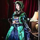 voordelige Gaming kostuums-geinspireerd door Black Butler Sieglinde Sullivan Anime Cosplaykostuums Cosplay Kostuums Patchwork Lange mouw Kleding / Hoofddeksels Voor Dames