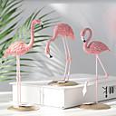 halpa Tyynyliinat-vaaleanpunainen flamingo-kalusteet kodin olohuoneen työpöydän asema-osaan hartsi flamingo