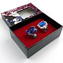 halpa Anime-somisteet-Enemmän lisävarusteita Innoittamana Black Butler Ciel Phantomhive Anime Cosplay-Tarvikkeet Renkaat Keinotekoiset korukiveet / Metalliseos Halloween-asut