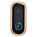 halpa Peruutuskamerat-sdeter älykäs video ovikello kamera 720p visuaalinen puhelu sisäpuhelin ovi kello infrapuna yö visio etäinen ennätys koti turvallisuus seuranta