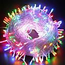 זול מצלמות חוץ רשת IP-100M חוטי תאורה 800 נוריות לבן חם / RGB / לבן עמיד במים / יצירתי / Party 24 V 1set / IP65