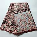 저렴한 Wedding Dress Fabric-아프리카 레이스 꽃 패턴 120 cm 폭 구조 용 신부 팔린 ~에 의해 5 야드