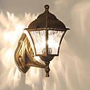 preiswerte Außenwandlichter-QIHengZhaoMing LED / Moderne zeitgenössische Wandleuchten im Freien Shops / Cafés / B¨¹ro Metall Wandleuchte 110-120V / 220-240V 12 W