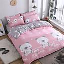 preiswerte Karikatur-Duvet-Abdeckungen-Bettbezug-Sets Cartoon Design / Zeitgenössisch Polyester Bedruckt 4 StückBedding Sets