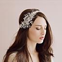 abordables Chapeau & coiffure-Cristal Coiffe avec Peigne florale / Fleur 1 Pièce Mariage Casque