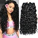 halpa Aitohiusperuukit-6 pakettia Brasilialainen Vesiaalto Remy-hius Hiukset kutoo Bundle Hair Yksi pakkaus ratkaisu 8-28inch Luonnollinen väri Hiukset kutoo Hajuton Muodikas malli Gift Hiukset Extensions Naisten