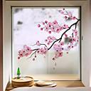 povoljno Zidne naljepnice-Prozor Film i Naljepnice Ukras Suvremena / 3D Cvijet PVC Naljepnica za prozor / Protiv odsjaja