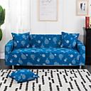 Недорогие Чехлы и накидки на мягкую мебель-листья синий прочные мягкие высокие эластичные чехлы для дивана моющиеся спандекс чехлы для диванов