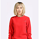 cheap Hiking T-shirts-Women's Solid Color Hiking Tee shirt Outdoor Winter Windproof Breathable Comfortable Heat Retaining Tee / T-shirt Camping / Hiking / Caving Traveling Winter Sports Pink / Violet / Dark Green