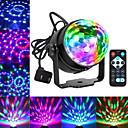 tanie Oświetlenie sceniczne-party lights disco ball dj światła blingco disco światła aktywowane światła stroboskopowe party ball light led stage lights efekt pokaż oświetlenie disco light na urodziny dj kids xmas club karaoke