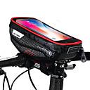 זול כיסוי לאופניים-טלפון נייד תיק תיקים לכידון האופניים 6.2 אִינְטשׁ רכיבת אופניים ל iPhone 8 Plus / 7 Plus / 6S Plus / 6 Plus iPhone X שחור שחור-אדום רכיבה על אופניים / אופנייים