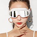 זול כובעי שחיה-משקפי שחייה עמיד משקפי שחייה נגד ערפל חוץ שחייה מתנת חבר סיליקוןריצה גומי PC לבן אדום ורוד