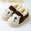 זול נעלי בית לילדים-בנות נוחות PVC כפכפים & כפכפים פעוט (9m-4ys) / ילדים קטנים (4-7) קפה / חום / אדום חורף
