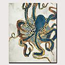 זול הדפסים-דפוס הדפסי בד מגולגל הדפסי בד מתוחים - מופשט חיות קלסי מודרני הדפסים אמנותיים