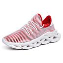 hesapli Erkek Atletik Ayakkabıları-Erkek Ayakkabı Örümcek Ağı Yaz Günlük Atletik Ayakkabılar Koşu / Yürüyüş Günlük / Dış mekan için Beyaz / Siyah / Kırmzı