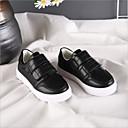 זול נעלי ילדים אתלטי-בנים / בנות נוחות סינטטיים נעלי ספורט לבן / שחור אביב / קיץ