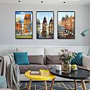 זול אומנות ממוסגרת-דפוס אומנות ממוסגרת סט ממוסגר - L ו-scape פוליסטירן תצלום וול ארט