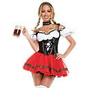 זול מגפי נשים-פסטיבל אוקטובר דירנדל טרכטנקליידר בגדי ריקוד נשים שמלה בוואריה תחפושות שחור