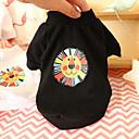ieftine Articole de Bucătărie-Pisici Câine Tricou Îmbrăcăminte Câini Negru Bumbac Costume Pentru Vară Cosplay