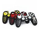 hesapli PS4 Aksesuarları-Kişiselleştirilmiş koruyucu kapak silikon oyun denetleyicisi kılıf koruyucu için ps4 / sony ps4 dayanıklı ps4 kolu seti