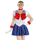 Недорогие Стоматологическая помощь-Вдохновлен Sailor Moon Sailor Moon Аниме Косплэй костюмы Японский Косплей Костюмы Неприменимо Бельё / Головная повязка Назначение Жен.