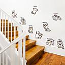 זול רכב הגוף קישוט והגנה-מדבקות קיר חתול מצחיק - מילים& ציטוטים קיר מדבקות תווים חדר לימוד / משרד / חדר אוכל / מטבח
