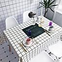 זול כיסויי שולחן-עכשווי יום יומי כותנה סיבי פוליאסטר ריבוע כיסויי שולחן מעוטר חג מדפיס ידידותי לסביבה עמיד במים לוח קישוטים