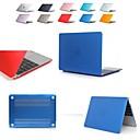 halpa Taikakuutio-macbook-kotelo läpinäkyvä / kiinteä värillinen pvc (polyvinyylikloridi) macbook-ilmalle 11 / ilma 13 / ilma 13 2018 / pro 13 / pro 15 / pro 13retina / pro 15 retina / macbook 12