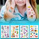 זול שפתונים-6 pcs קעקועים זמניים ידידותי לסביבה / עמיד במים פנים / גוף / ברכיום דיו ידידותי לסביבה