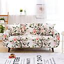 זול כיסויים-ספה לכסות גבוה למתוח עלים עץ מודפס רך רך פוליאסטר slipcovers