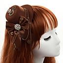 זול קישוטי חתונה-אחר חומר / סגסוגת ביגוד לראש עם שרשרת מתכת / מתכת / קצוות חלק 1 אירוע מיוחד / מסיבה\אירוע ערב כיסוי ראש