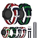 זול מדפים ומדפי קיר-ניילון ארוג בד לצפות רצועת רצועת צמיד wristband עבור garmin forerunner 645 / מבשר 245m / vivoactive 3 / vivomove hr / vivomove שעון חכם