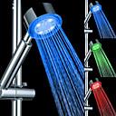 זול נברשות-יד עכשווי מקלחת כרום / תכונה פלסטיק - הגשם / הוביל / מקלחת, ראש מקלחת