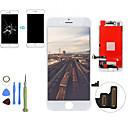 זול כיסויים-2019 החלפת מסך LCD חדש מגע מסך מגע דיגיטיזר הרכבה הלוח הקדמי ערכת עם כלי פירוק עבור iPhone SE / 5s / 5 qyqfashion