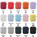 זול תאורת אופנוע-מגן אוזניות צבעוני להגדיר עבור airpods תפוח נייד כיסוי רצועה סיליקון במקרה האוויר תרמילים אוזניות אביזרים