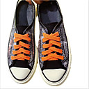 זול סניקרס לנשים-בגדי ריקוד נשים נעלי ספורט שטוח קנבס אביב קיץ שחור / כתום / צהוב