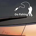 זול רכב הגוף קישוט והגנה-פופולרי דיג ויניל מכונית גרפיקה חלון רכב רכב מדבקה תפאורה