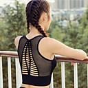 זול ביגוד כושר, ריצה ויוגה-בגדי ריקוד נשים יוגה למעלה ספורט צבע אחיד לייקרה עליונית טנק ריצה כושר וספורט לבוש אקטיבי נושם תומך זיעה מיקרו-אלסטי