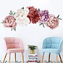 זול דלת חומרה & מנעולים-צבע פרחים מדבקות קיר - מילים& ציטוטים ampamp קיר מדבקות תווים חדר לימוד / משרד / חדר אוכל / מטבח