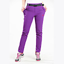 cheap Hiking Trousers & Shorts-Women's Hiking Pants Outdoor Waterproof Breathable Quick Dry Stretchy Spring Summer Elastane Pants / Trousers Fishing Camping / Hiking / Caving Traveling Black Purple XL XXL XXXL