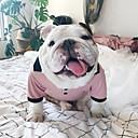 abordables Ropa para Perro-Gato Perro Vestidos Ropa para Perro Tiaras y Coronas Rosa Algodón Disfraz Para Primavera & Otoño Verano Mujer Moda