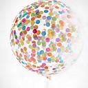 זול ימי הולדת-קישוטים לחג לשנה החדשה יום הולדת Party זהב / כחול + כחול בהיר / כחול 1pc