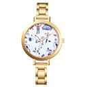 זול מוקסינים לנשים-בגדי ריקוד נשים שעון מכני קווארץ עמיד במים אנלוגי אופנתי - זהב זהב ורד / מתכת אל חלד