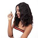 זול פיאות תחרה משיער אנושי-שיער אנושי חזית תחרה פאה תספורת בוב בסגנון שיער ברזיאלי מתולתל שחור פאה 130% צפיפות שיער נשים בגדי ריקוד נשים קצר אחרים Clytie
