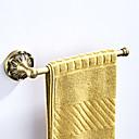 זול מוטות למגבות-מתלה מגבת עיצוב חדש עתיקה / קאנטרי פליז 1pc - חדר אמבטיה / אמבטיה מותקן על הקיר