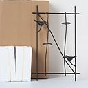 זול נייר & מחברות-מצחיק קיר תפאורה מתכת ארופאי וול ארט, אומנות קיר ממתכת תַפאוּרָה