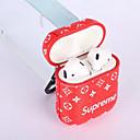 זול נעלי ספורט לגברים-מגן עבור AirPods עמיד בזעזועים / מחזיק טבעת / תבנית מארז אוזניות רך