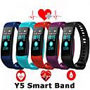 זול חיישנים-y5 הלהקה חכם לראות צבע מסך wristband קצב הלב פעילות גשש חכם צמיד אלקטרוניקה