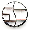זול אדים Atomizers-מצחיק קיר תפאורה עץ ארופאי וול ארט, מדפים ומדפי קיר תַפאוּרָה